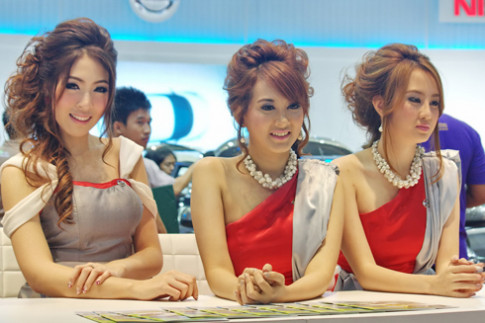 Người đẹp tại Bangkok Motor Show 2012