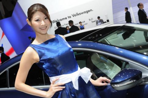 Người đẹp tại triển lãm Tokyo Motor Show