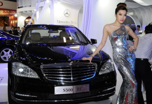 Người đẹp Việt Nam Motor Show