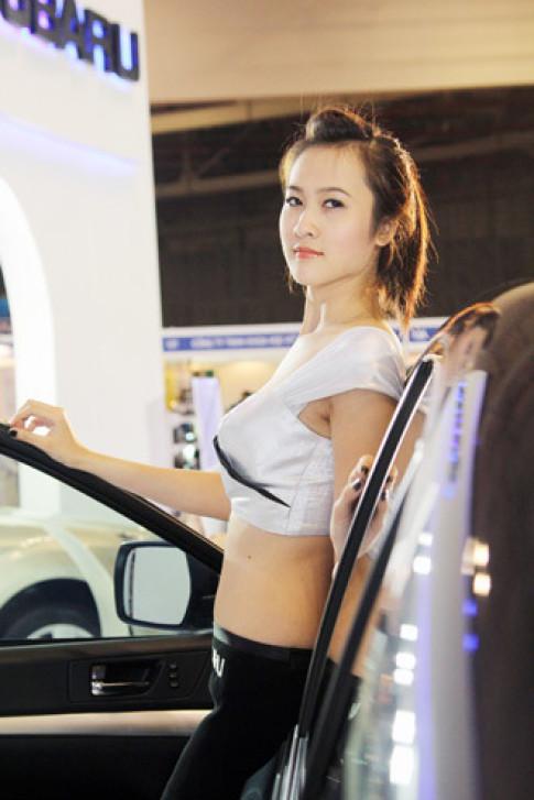 Người mẫu tại Saigon Autotech
