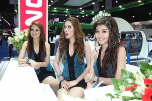 Nhan sắc người đẹp tại Triển lãm ôtô Bangkok