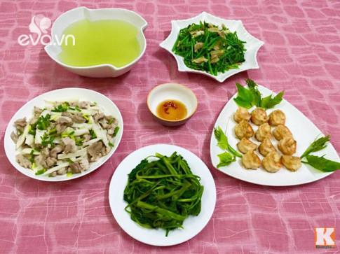 Những món ăn khiến bữa cơm chiều trôi cơm