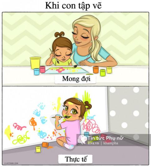 Những thực tế phũ phàng chỉ những ai làm mẹ mới hiểu