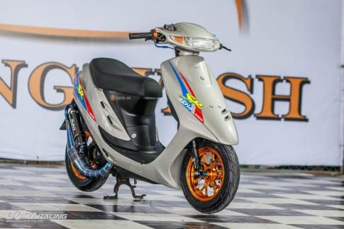 Quy nho Honda Dio trong ban do day an tuong cua biker Thai