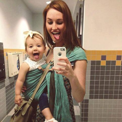 """Tan chảy những bức ảnh """"có con gái là điều tuyệt vời nhất trên đời này"""""""