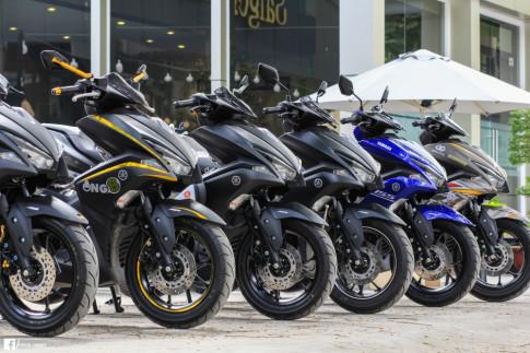 Tổng hợp các phiên bản và màu sắc NVX 155 ở Đông Nam Á