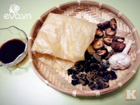 Tự làm vịt quay chay - món ăn tuyệt vời cho Rằm tháng 7