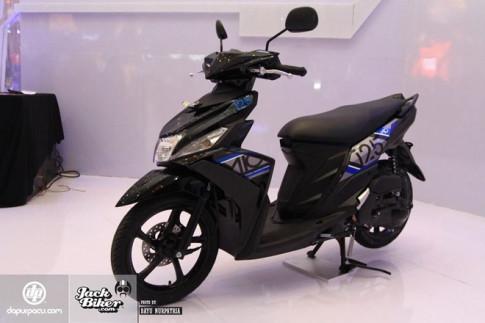 Yamaha Mio M3 - xe ga dành cho phái nữ với hệ thống khóa đa dụng