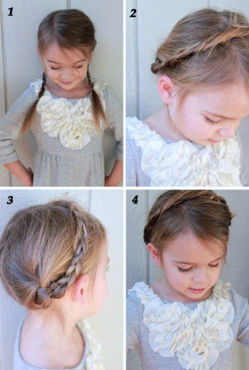11 kiểu tóc đẹp chưa mất 5 phút, mẹ bận mấy vẫn kịp tết cho con đi học