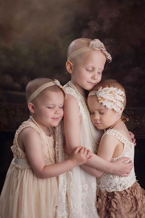 3 bé gái mắc ung thư từng gây xúc động dư luận năm 2014 giờ xinh đẹp hơn rất nhiều