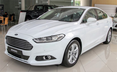 Anh Ford Mondeo 2015 tai Malaysia