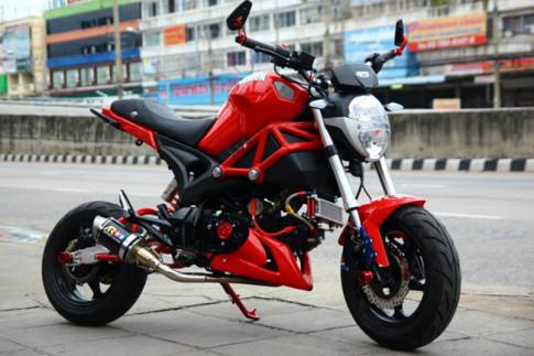 """Bằng chứng cho thấy Ducati Monster 110 có thể là hàng """"dựng"""""""
