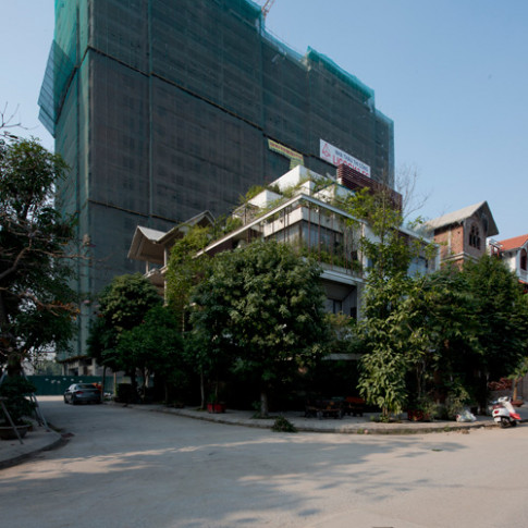 Báo Mỹ ca ngợi ngôi nhà phủ kín cây xanh giữa Hà Nội