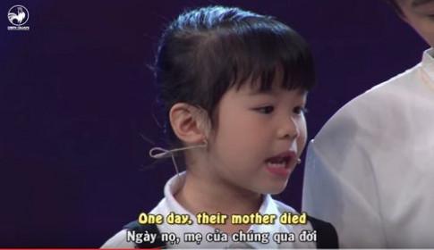 Biệt tài tí hon: Bé gái 5 tuổi nói tiếng Anh trôi chảy, chuẩn chỉnh ngang tầm Trấn Thành