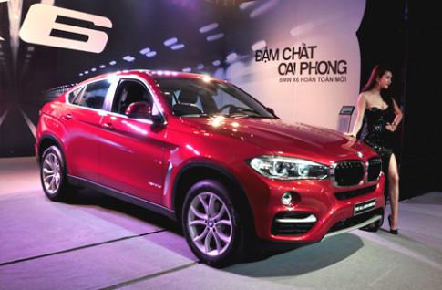 BMW X6 mới giá từ 3,4 tỷ tại Việt Nam