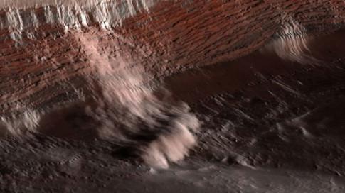 'Các phi hành gia chỉ cần xô và xẻng để lấy nước trên sao Hỏa'