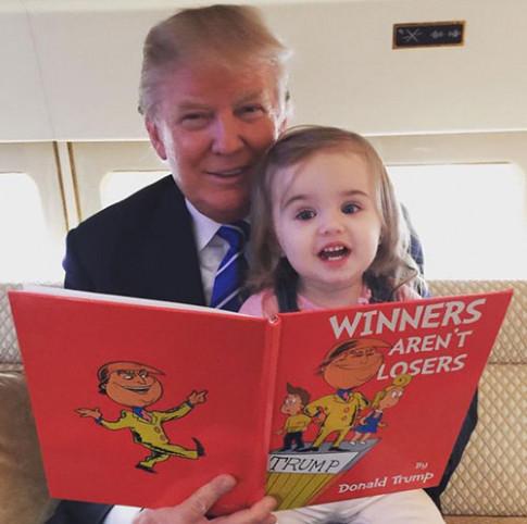 Cháu gái thứ 7 xinh như thiên thần của tân Tổng thống Mỹ Donald Trump