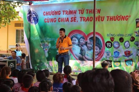 CLB Exciter Biên Hòa 6789 với hành trình Cùng Chia Sẻ - Trao Yêu Thương