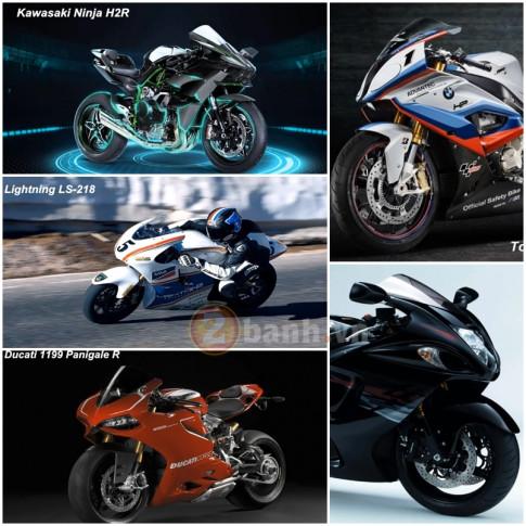 [Clip] Top 5 mẫu xe mô tô PKL có tốc độ nhanh nhất hiện nay