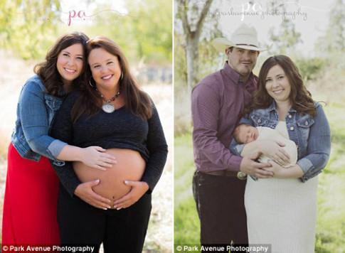 Con gái không thể mang bầu, mẹ vợ đã sinh con cho con rể