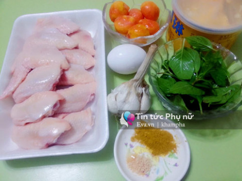 Đổi vị với cánh gà chiên sốt trứng muối