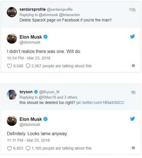 Elon Musk 'troll' Facebook bằng cách xóa sổ 3 fanpage vài triệu lượt xem của mình