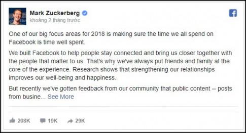 Facebook đổi thuật toán – ác mộng của những người kinh doanh trên MXH này