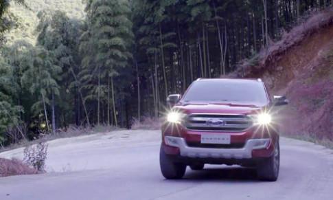 Ford tung video đầu tiên về Everest thế hệ mới