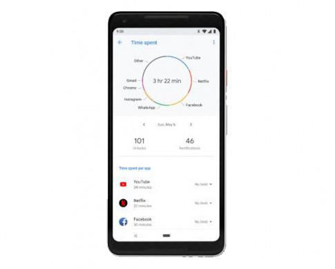 Google chong hien tuong nghien smartphone voi ban cap nhat ke tiep