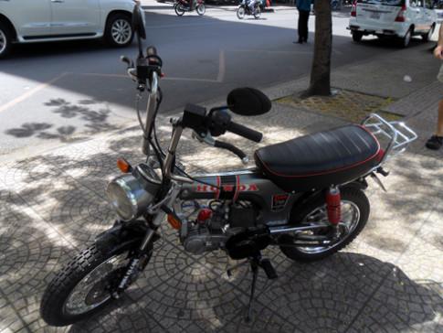 Hành trình độ Honda Dax