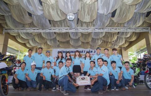Hơn 500 chiếc Exciter chúc mừng CLB Exciter Phước Lý.