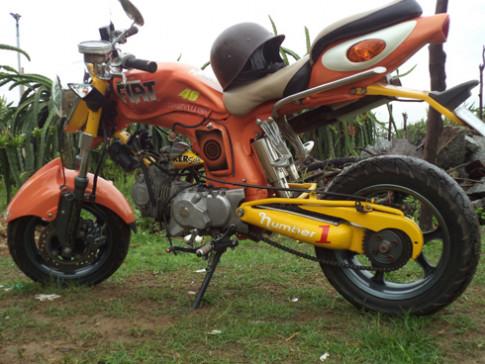 Honda 67 độ của thợ cơ khí Bình Thuận