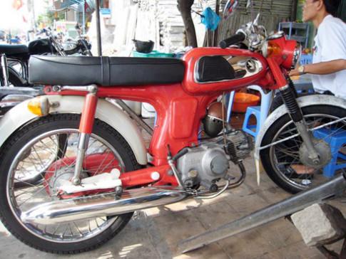 Honda 67 'zin' ở Long Xuyên