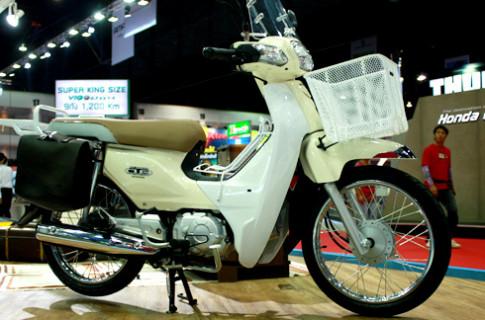 Honda Cub 110 trong vẻ phong trần