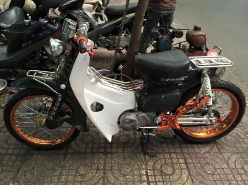 Honda Cub 81 độ cực chất của tay chơi Việt