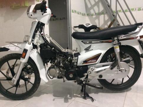 Honda Dream chim trắng mồ côi nơi Cái Bè