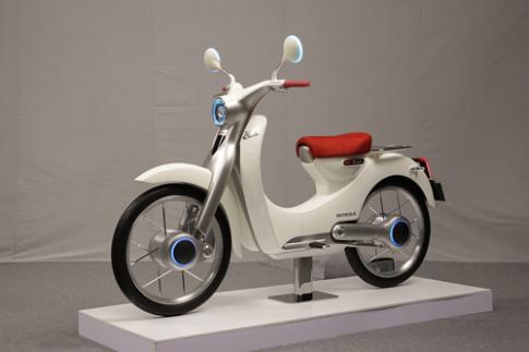Honda EV-Cub - tuong lai cua huyen thoai Cub