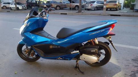 Honda PCX 150 đậm chất hàng hiệu của dân chơi Thái