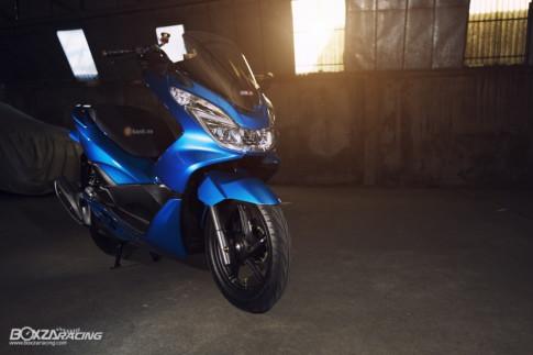 Honda PCX 150 Deep Blue đơn giản tạo ấn tượng mạnh