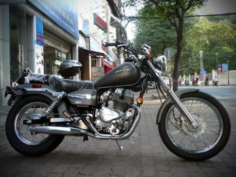 Honda Rebel 250 - nét cổ điển giữa Sài Gòn