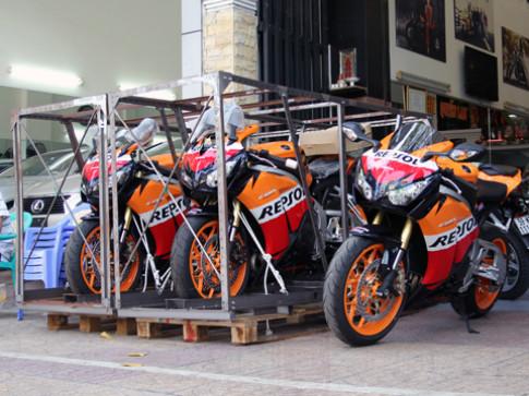 Honda Repsol 1000RR ABS 2013 đầu tiên tại Việt Nam
