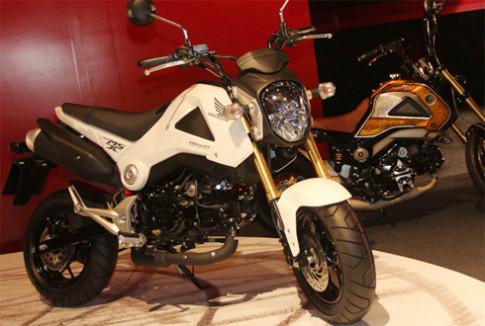 Honda trình làng xe côn tay MSX125 mới