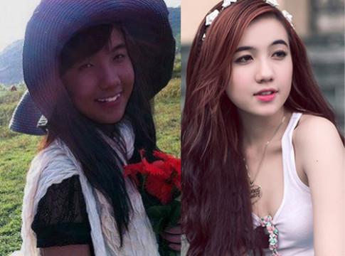 Hot girl Việt thay đổi thế nào khi thiếu vắng son phấn?