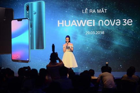 Huawei Nova 3E chính thức ra mắt tại Việt Nam