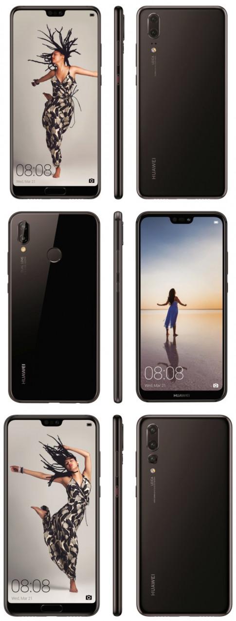 Huawei P20 Pro trang bị camera 40 Megapixel, 'khủng' thứ nhì trên thế giới