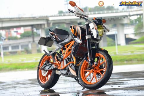 KTM Duke 390 độ siêu chất của biker Đài Loan