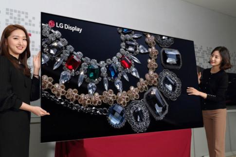 LG thành công phát triển hai TV OLED 'khủng' độ phân giải 8K, cuộn tròn được