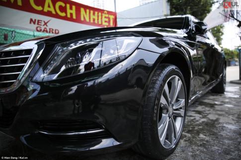 Mercedes S500 2015: Mẫu xe sang trọng trong giới doanh nhân