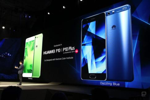 MWC17: Huawei P10/P10 Plus camera kép, 8 màu, viền cong siêu mỏng