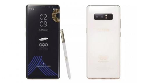 Ngắm chiếc Galaxy Note 8 đặc biệt dành riêng cho Olympic mùa đông 2018